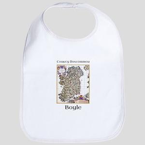 Boyle Co Roscommon Ireland Baby Bib