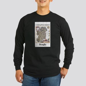 Boyle Co Roscommon Ireland Long Sleeve T-Shirt