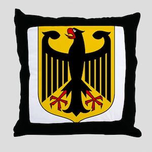 Bundesadler - Bundeswappen Deutschlan Throw Pillow
