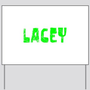 Lacey Faded (Green) Yard Sign