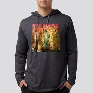 cool statue of liberty Long Sleeve T-Shirt