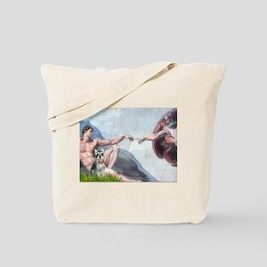 Creation / Schnauzer (#8) Tote Bag