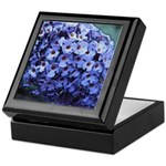 Butterfly Bush Floral Keepsake Box