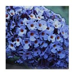Butterfly Bush Floral Tile Coaster