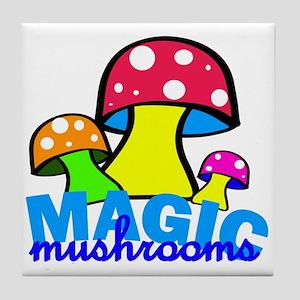 original mushrooms Tile Coaster