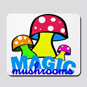 original mushrooms Mousepad