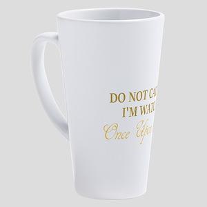Once Upon a Time Alert 17 oz Latte Mug