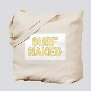 SURF NAKED Tote Bag