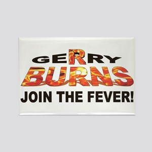 Gerry Burns Rectangle Magnet