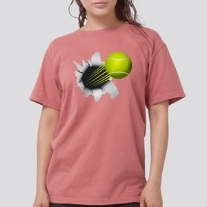 Tennis Ball Flying Out Of Hole T-Shirt