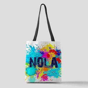 Good Vibes NOLA Burst Polyester Tote Bag