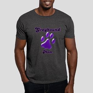 Mom Paw Purple Dark T-Shirt