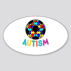 Autism Awareness Soccer Sticker