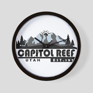 Capitol Reef - Utah Wall Clock