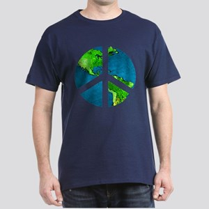 Peace Sign - Earth - T-Shirt