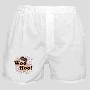 Woo Hoo Confetti Graduation Boxer Shorts