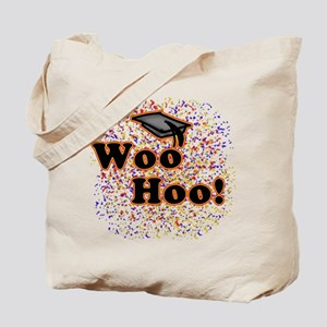 Woo Hoo Confetti Graduation Tote Bag