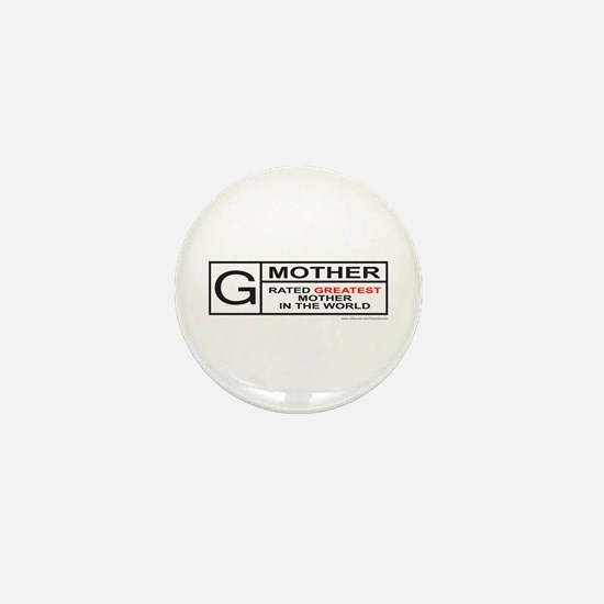 GREATEST MOTHER Mini Button