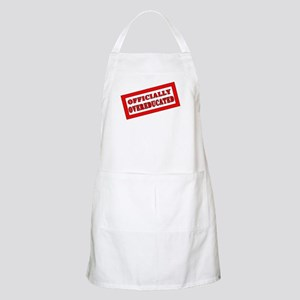 Officially Overeducated BBQ Apron