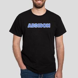 Retro Addison (Blue) Dark T-Shirt
