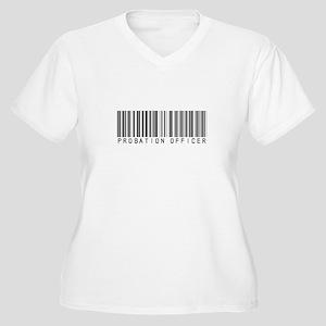 Probation Officer Barcode Women's Plus Size V-Neck