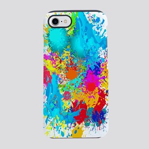 Colorful Vertical Burst iPhone 8/7 Tough Case