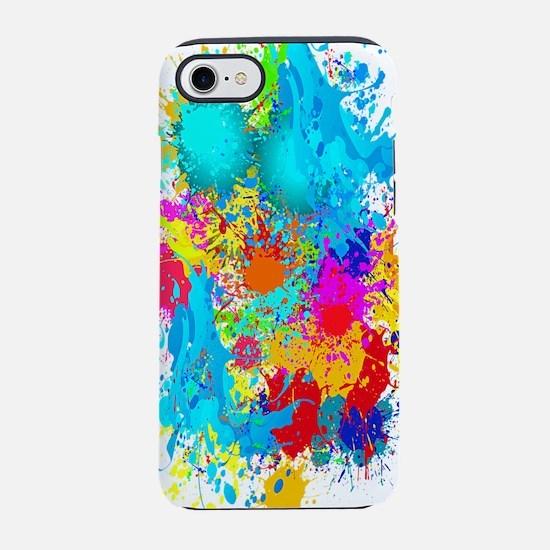Colorful Vertical Burst iPhone 8/7 Tough Case