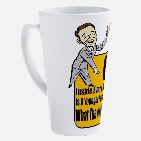 Unique 60th birthday 17 oz Latte Mug