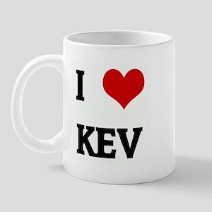 I Love KEV Mug