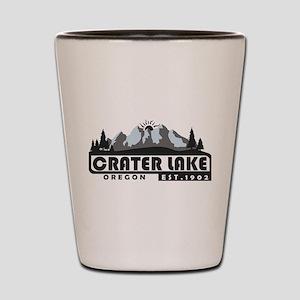 Crater Lake - Oregon Shot Glass