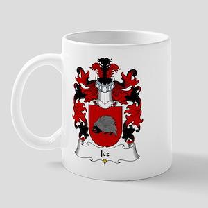 Jez Family Crest Mug