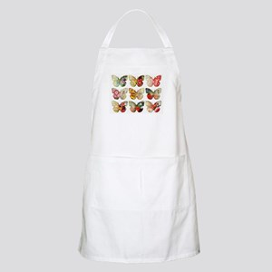 BUTTERFLY COLLAGE Light Apron