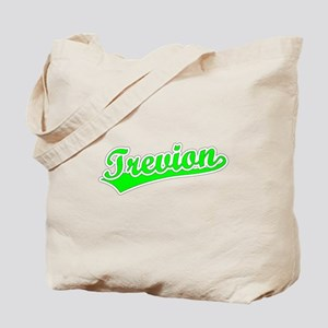Retro Trevion (Green) Tote Bag