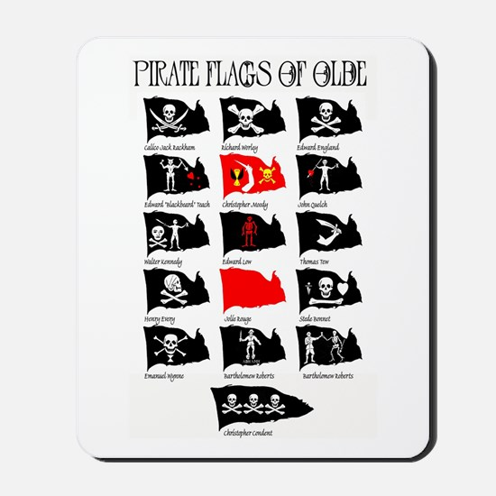 Pirate Flags- Jolly Roger Mousepad