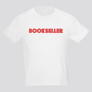 Retro Bookseller (Red) Kids Light T-Shirt