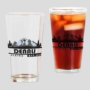 Denali - Alaska Drinking Glass