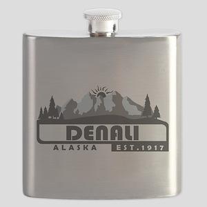 Denali - Alaska Flask