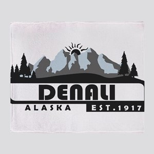 Denali - Alaska Throw Blanket