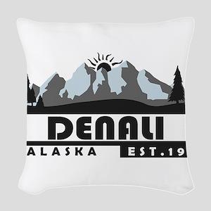 Denali - Alaska Woven Throw Pillow