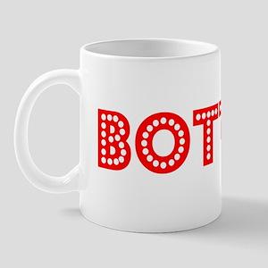 Retro Bottom (Red) Mug