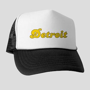 Retro Detroit (Gold) Trucker Hat