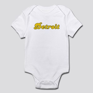 Retro Detroit (Gold) Infant Bodysuit