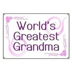 World's Greatest Grandma Banner