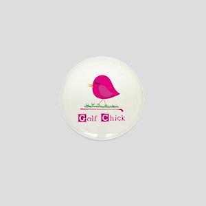Golf Chick Too - Mini Button