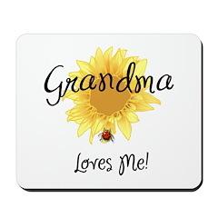 Grandma Loves Me Mousepad