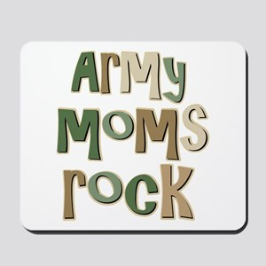 Military Army Moms Rock Mousepad