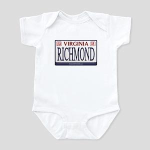 Richmond License Plate Infant Bodysuit