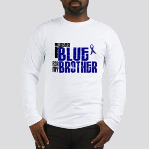 I Wear Blue For My Brother 6 Long Sleeve T-Shirt