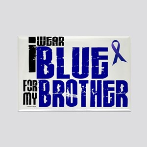 I Wear Blue For My Brother 6 Rectangle Magnet