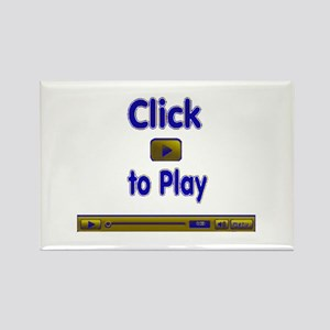 Click to Play Rectangle Magnet